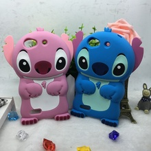 3D Cartoon Stitch Case ZTE Blade G LUX L2 L3 Plus V6 D6 S6 L4 S460 X3 D2 V815 A510 Cute Soft Silicone Phone Cover - Beijing beyond Technology Co. Ltd. store