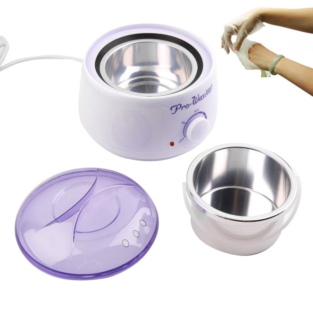 500ML Paraffin Waxing Heater & Wax Warmer Pot Hair Remover - Paraffin-wax Therapy Depilatory Salon Beauty Tool(China (Mainland))