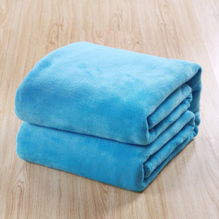 2014 Plush Quilt Warm Blanket Freeshipping Spring/autumn Towel Frozen Blanket Roast Stove Fl Fleece Solid Color Coral Christmas(China (Mainland))