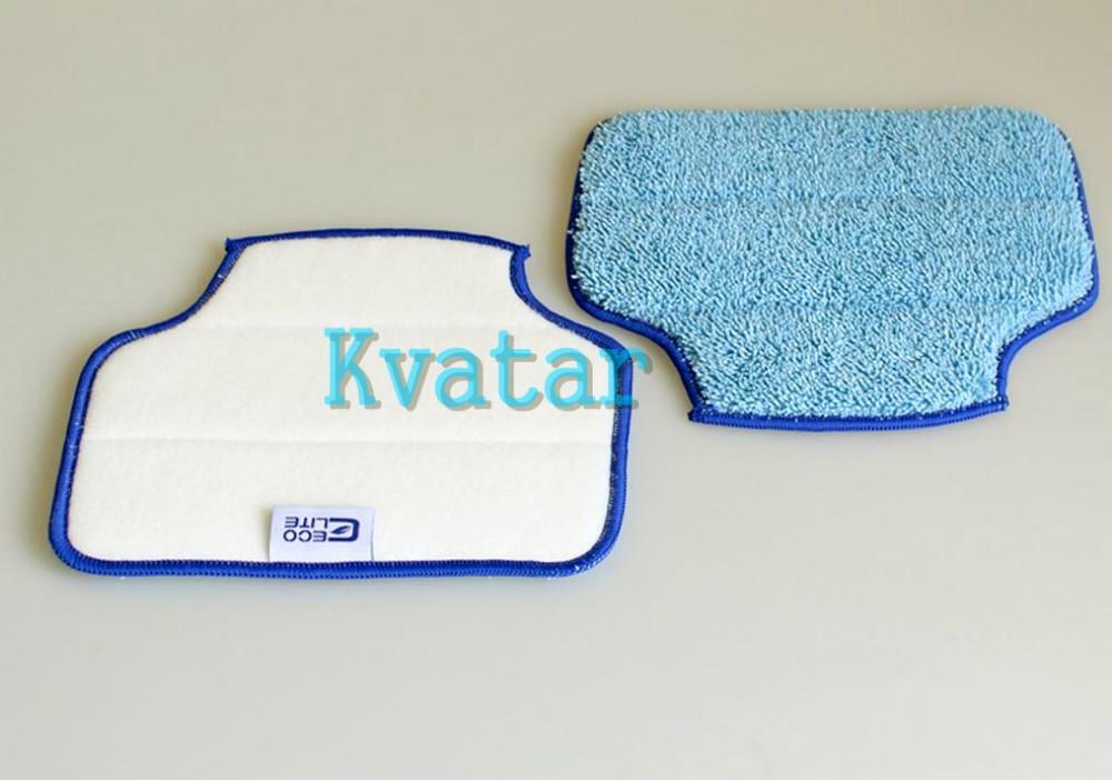 (2 pcs/lot) Mopping Cloth for Neato Robotics XV-11 XV-12 XV-14 XV-15 XV-21 Botvac D85 D80 D75 85 70e Microfiber cleaning Pad(China (Mainland))