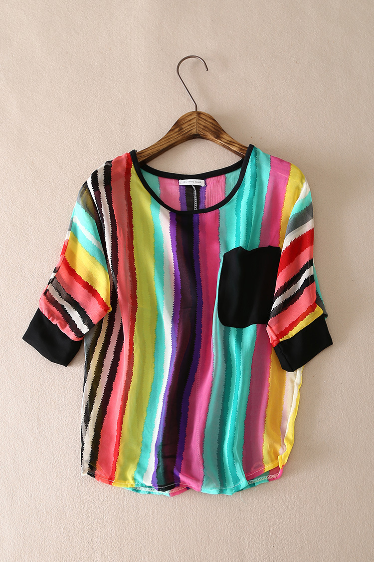 Women'S Plus Size Polyester Blouses 22