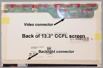 "13.3"" LCD Screen for Dell XPS M1330 WXGA CCFL lcd screen for laptop"