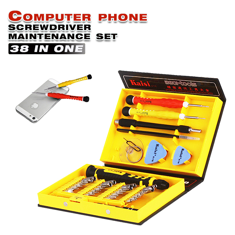 38 in 1 Hand Tool Sets Multi Repair Tool Box Magnetic Opening Tools Kit Screwdriver Cell Phones Iphone 4 5S Notebook MP3 Laptop(China (Mainland))