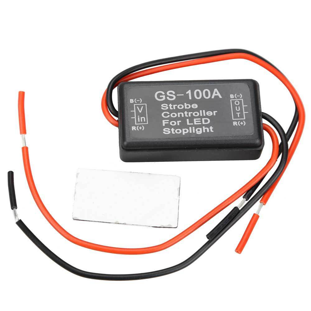 Flash Strobe Controller Flasher Module for LED Brake Stop Light 12V NVP