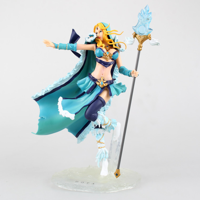 Hot Collectors Edition NEW Anime WOW DOTA 2 Crystal Maiden PVC Action Figure Model kids Collection Toy 18cm F0003<br><br>Aliexpress