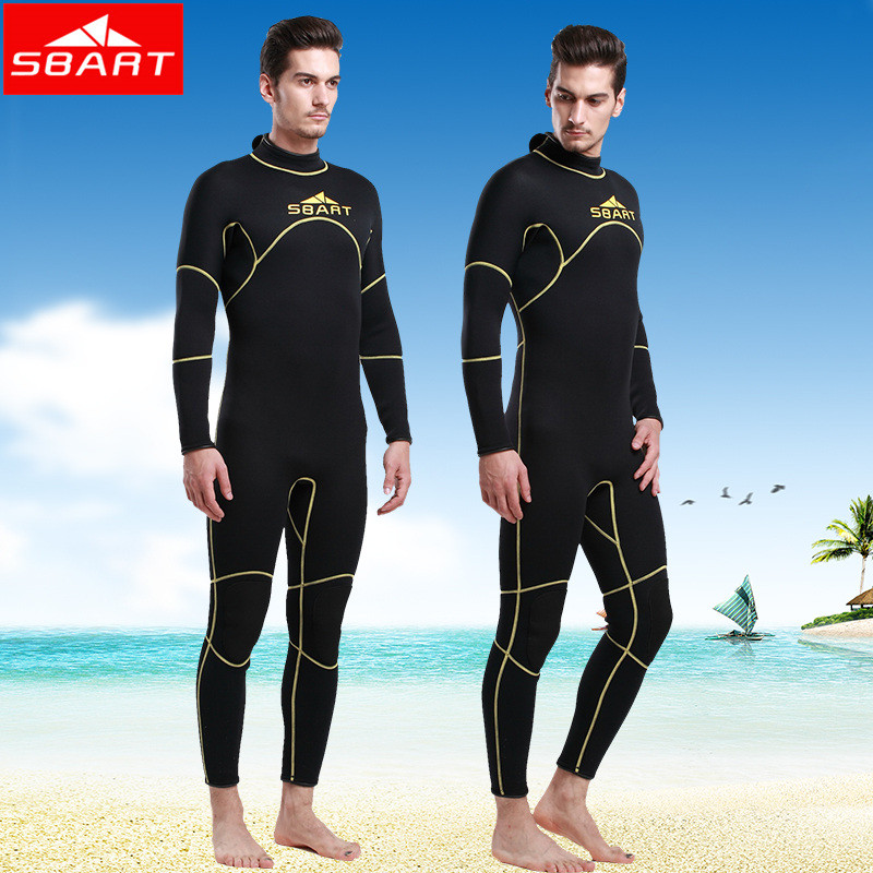 Фотография SBART 2015 Surfing Wetsuit Spearfishing Neopreno Driving Equipment Scuba Diving Wetsuit Woman Wet Suit Full Body Swimwear J1016