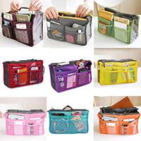 HOT Sale! Make up organizer bag Women Men Casual travel bag multi functional Cosmetic Bag storage bag in bag Handbag 80516
