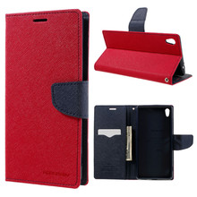 Buy Sony XA Ultra Case MERCURY Goospery Leather Wallet Flip Cover Case Sony Xperia XA Ultra F3211/Dual F3212 F3216 for $7.55 in AliExpress store