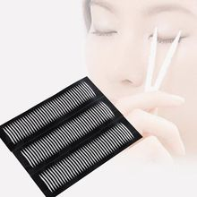 60Pairs/Pack Double-sided Eyelid Adhesive Thin Invisible Eyes Tape Makeup Sticker(China (Mainland))