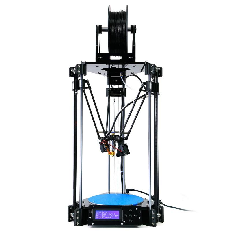 3d printer impressora 3d Delta 3D Printer Rostock Mini pro RepRap Replicator Machine with LCD Controller