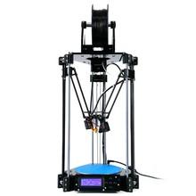 3d printer impressora 3d Delta 3D Printer Rostock Mini pro RepRap Replicator Machine with LCD Controller DIY Kit