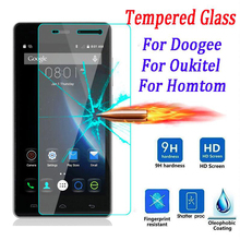 Buy 9H Premium Screen Protector Film Tempered Glass DOOGEE X5 Max Pro X6 Y300 Y100 Homtom ht3 ht6 ht7 Oukitel K4000 K6000 for $2.24 in AliExpress store