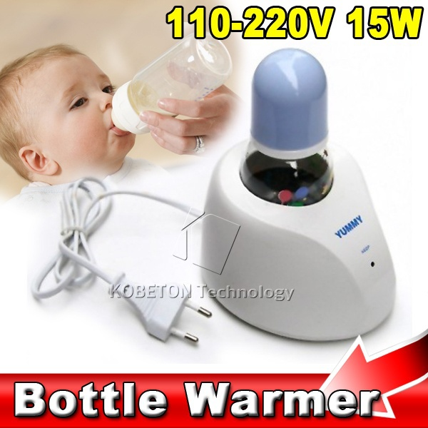 Auto Baby Milk Bottle Thermostat Warmer Infant Nurseling Drink Water Heater Mum Feeding heating apparatus Kits 110V/220V 15W(China (Mainland))