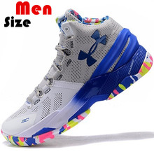 2016 High Quality Cheap Man Under Armours UA Curry 2 Boots Men Euro Size 40-46 US 7 8 8.5 9.5 10 11 12 Free Shipping(China (Mainland))