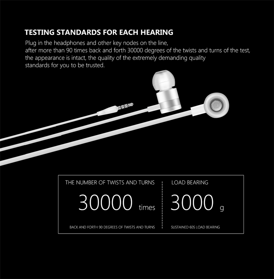 Beevo EM130 In-Ear Earphone Special Edition Headset Go Pro Earphones Clear Bass Earphone With Microphone 4 Colors fone de ouvido