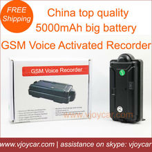 New! GSM listening device with voice activation ,schedule & remote recording and support max 32G memory.(China (Mainland))