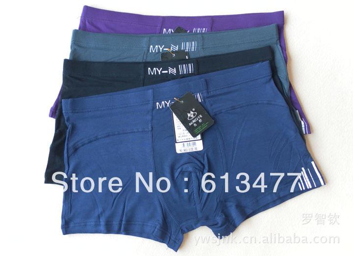 wholesale!high quality modal/bamboo fiber casual comfortable men's underwear boxers shorts bri0efs modal underwear LZ3603-30pcs