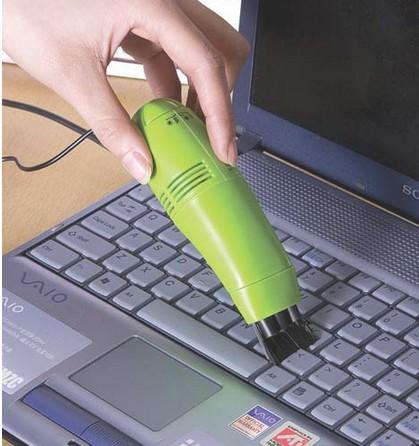 120pcs/lot Free Shipping New Mini Usb Vacuum Keyboard Cleaner for Pc Laptop C3021(China (Mainland))