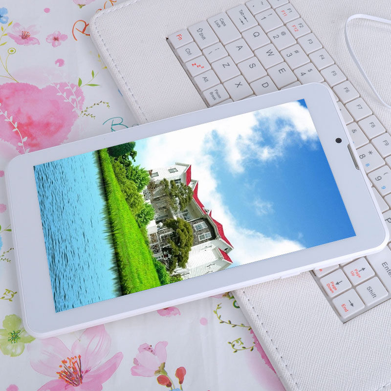 7 Inch small computer tablet pc 3G Phone Call Android Tablets Pc WiFi GPS Bluetooth FM Dual core Dual Camera Dual SIM Card(China (Mainland))