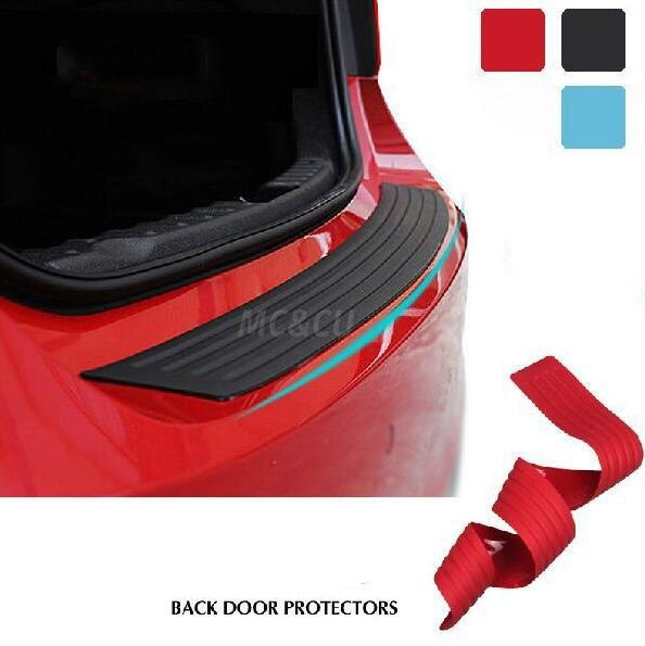 Car Rear Bumper Scuff Protective Sill Cover For KIA RIO K2 K5 Sportage Sorento Hyundai i20 i30 i35 iX20 iX35 Solaris Verna(China (Mainland))