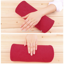 hand rest Nail art manicure cushion Pillow Salon nail Hand Holder pillow soft Nail Arm Rest Manicure Accessories Tool Equipment(China (Mainland))