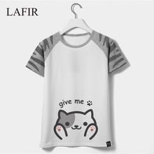 2016 Summer Short Sleeve Cotton T-shirt Female Kawaii Cat Totoro T Shirt Women Graphic Tee Femme Tshirt Tops - LAFIR store