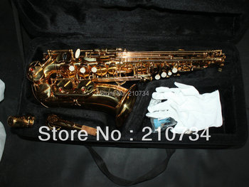 Wholesale -VOS Brand 54 Alto Saxophone Golden  New Arrival Free shipping