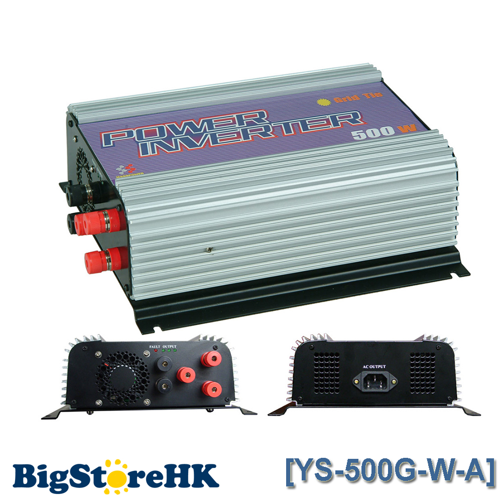 500W Grid Tie Power Inverter for 3 Phase AC To AC Wind Turbine MPPT Pure Sine Wave Inverter Build In High Wind Protection(China (Mainland))