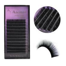 Abonnie All Size B/C/D/J curl 1 trays ,Individual natural Mink Eyelash Extension. Artificial Fake False Eyelashes(China (Mainland))