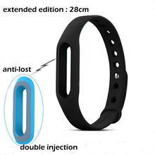 28cm Long Xiaomi Miband Strap Replace for Mi Band also Compatible with 1s (pulse) Version