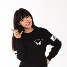 Infinite kpop Unisex long sleeve autumn winter hoodies k-pop korea infinite reality Outwear hoodies top clothes clothing