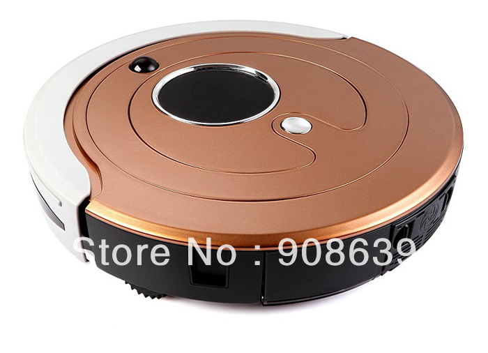 Free Shipping Most Advanced Robot Vacuum Cleaner (Sweep,Vacuum,Mop,Sterilize),Touch Screen,Schedule,2 Side Brush,Self Recharge(China (Mainland))