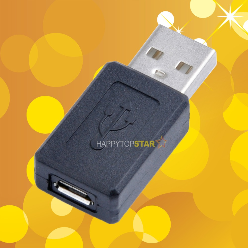 Micro USB Female to USB Male Adapter Converter Connector Male to Female Adapter USB 2.0