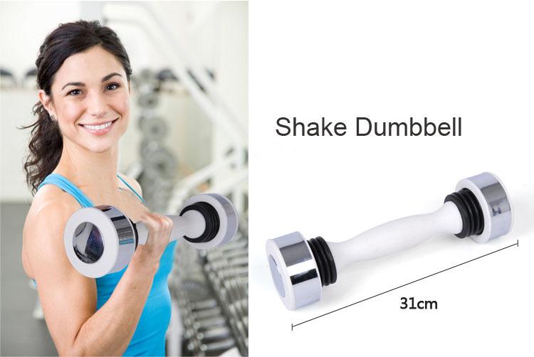 New arrival Women shake arm slimming fitness bodybuliding training vibration dumbbell