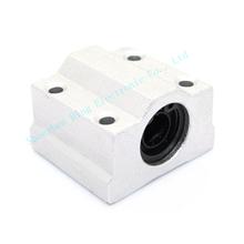4pcs lot 3d printer SC10UU Linear Ball Bearing XYZ Table CNC Router SC10UU SCS10UU 10mm for