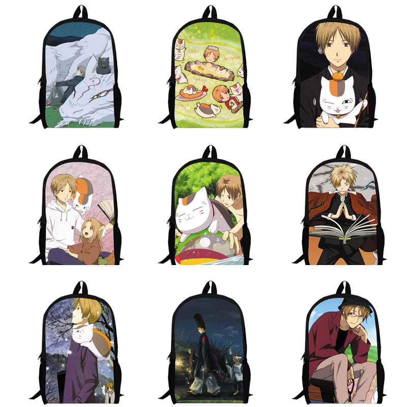 Filles garçons belle sacs à dos enfants bande dessinée le pacte des yōkai sacs ados japonais Anime sacs d'école sac Durable(China (Mainland))