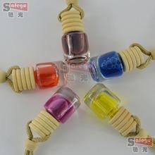 10 pieces/lot Car Air Freshener essential oils car perfume bottle pendant round car accessories auto(China (Mainland))