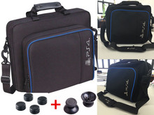 New PS4 bag Travel Storage Carry Case Cover Carrying Protective Shoulder Bag For Sony PS4 Playstation 4 Console With Free Gift