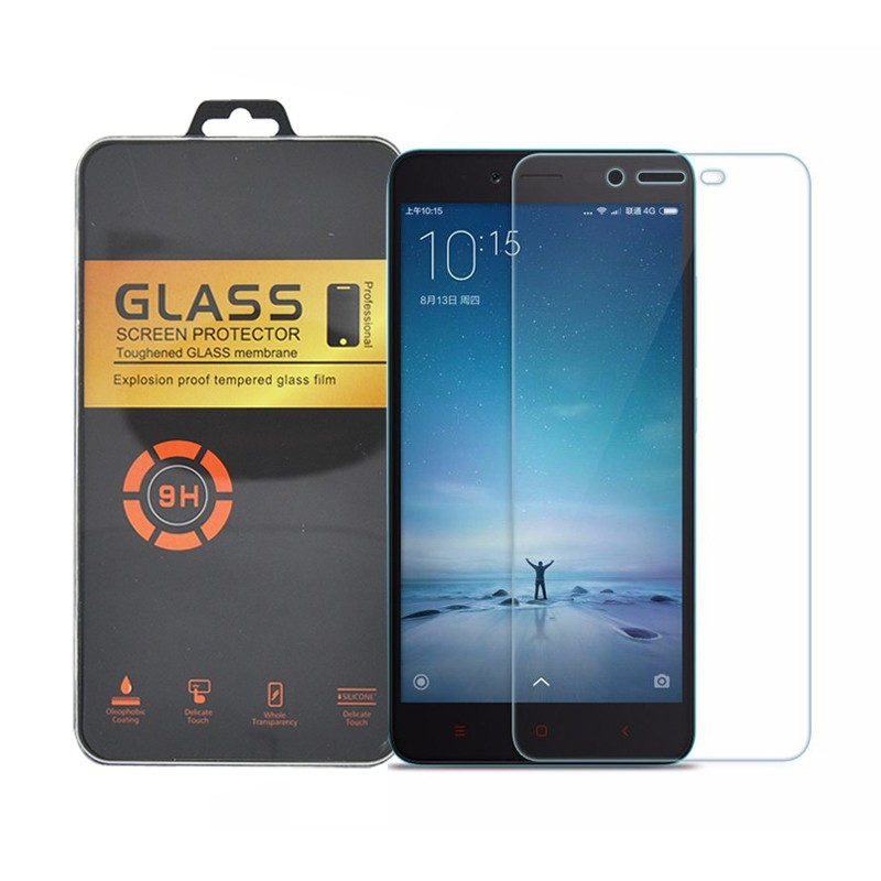 0.3mm 2.5D 9H for xiaomi redmi note 3 Pro glass for xiaomi redmi note 2 xiaomi mi5 mi4 Xiaomi Mi4c glass mobile protector film
