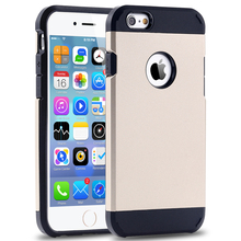 4s Luxury Ultra Thin Hybrid PC+TPU Case For Apple Iphone 4 4s 4G Durable Mobile Phone Back Cover For Iphone4 with Original Logo(China (Mainland))