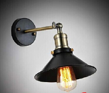 Louis Poulsen scone lights E27 plated Loft american retro vintage iron wall lamp 110V-220V 40W Antique lampe industrial<br><br>Aliexpress