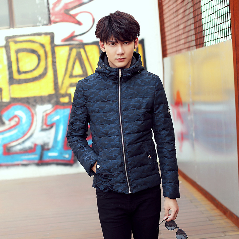 New Men Winter Coat Fashion Men s Army Down Slim Youth Military Jackets Stunden Napapijri Warm