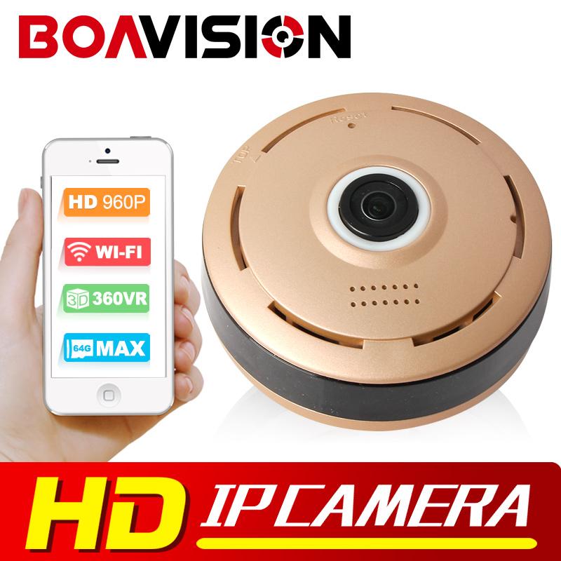 HD 960P Panoramic IP Camera Wifi Night Vision Mini Wireless Baby Monitor 360 Degree View 1.3MP CCTV Smart Camera Security P2P(China (Mainland))