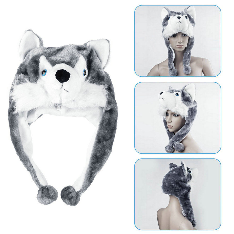 how to make an animal hat scarf