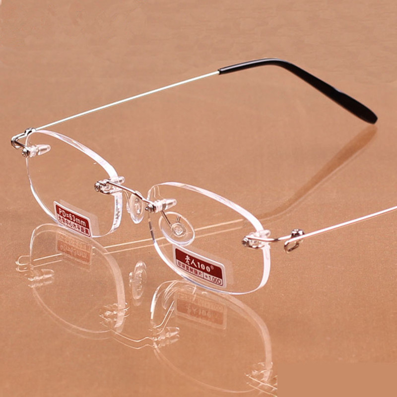 100 quality memory casual ultra-light frameless reading ...