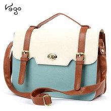 2015 New Hot Women Bags New Womens Shoulder Tote Handbag Faux Leather Square Messenger Bag Cross