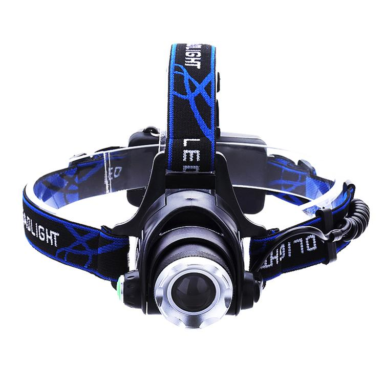 Cree XM-L T6 Led Headlamp Zoomable Headlight Waterproof Head Torch flashlight 3000LM Head lamp Fishing Hunting Light