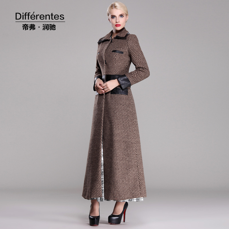 Women's winter long coats – Modern fashion jacket photo blog