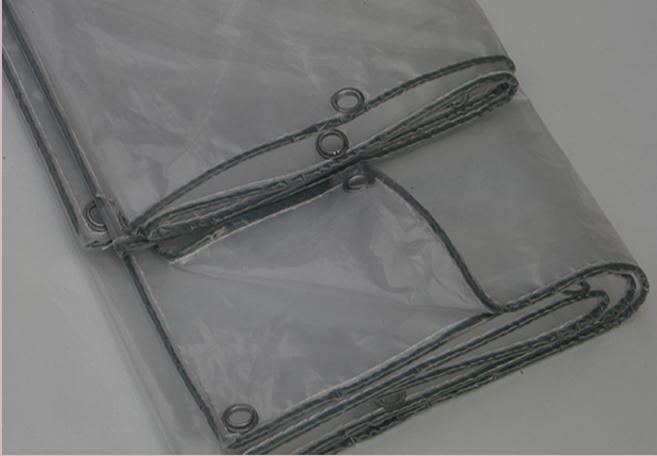 Customize 3mX4m transparent outdoor covered cloth, waterproof canvas, 60% transparent rain tarpaulin.greenhouse cloth.transluce