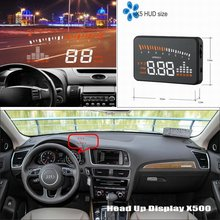Buy HUD Head Display Audi A6 S6 RS6 C6 C7 Refkecting Windshield Screen Safe Driving Screen Car Projector for $59.80 in AliExpress store